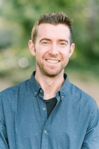 Image of author, speaker, coach, Matt Hallock smiling